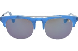 VINTAGE SUNGLASS FOR UNISEX ROUND BLUE - V12  4