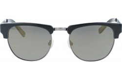 VINTAGE SUNGLASS FOR UNISEX CLUBMASTER BLACK AND GRAY - V1504  1