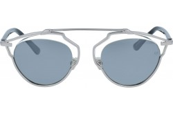 VINTAGE SUNGLASS FOR WOMEN ROUND SILVER - V1620  1