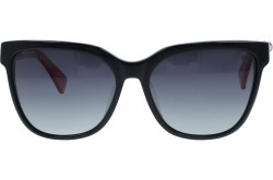 VINTAGE SUNGLASS FOR WOMEN SQUARE BLACK AND RED - V309  1