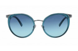 VERSACE SUNGLASS FOR WOMEN ROUND GRADIANT TURQUOISE - VE2185-10034S