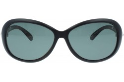 QMARINES SUNGLASS FOR WOMEN RECTANGLE BLACK MATT - X10  C2