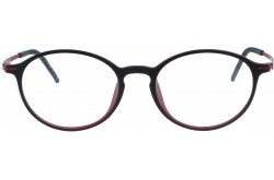 STAMINA FRAME FOR UNISEX ROUND BLACK AND RED - Y2605  C305