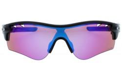 نظارة شمسية OAKLEY للرجال قناع لون أسود - OO9181  41