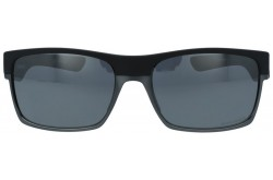 نظارة شمسية OAKLEY للرجال مستطيل لون أسود مطفي - OO9189  38