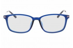 PUMA FRAME FOR UNISEX SQUARE SILVER AND BLUE - PE0085O  003