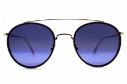 VACUUM PACK SUNGLASS FOR UNISEX ROUND BRONZE - NEIL  900